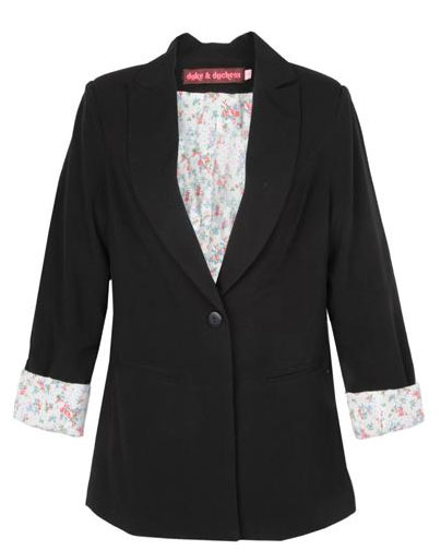 Duke-&-Duchess-Black-Blazer