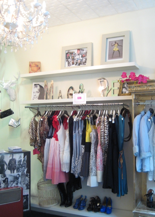 Mags and Pye Boutique Interior