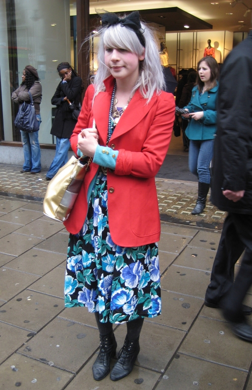 Red Jacket Floral Dress copy