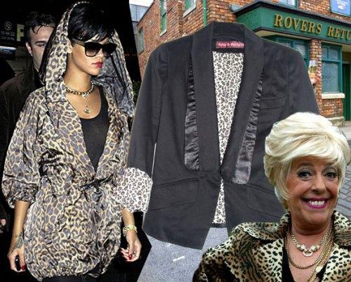 Duke & Duchess 'Efra' Leopard Print Rihanna