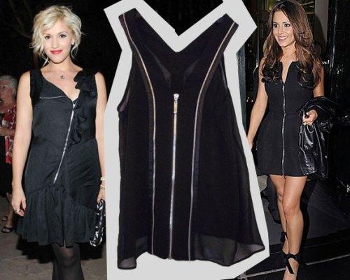 Zips Gwen Stefani Cheryl Cole
