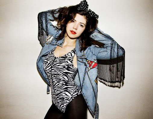 Marina of Marina and the Diamonds If you don't know who Marina is yet you