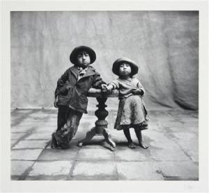 """Cuzco Children 1948"""
